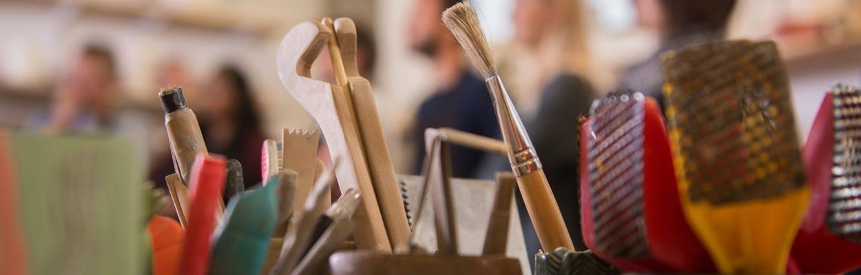 Image of brushes